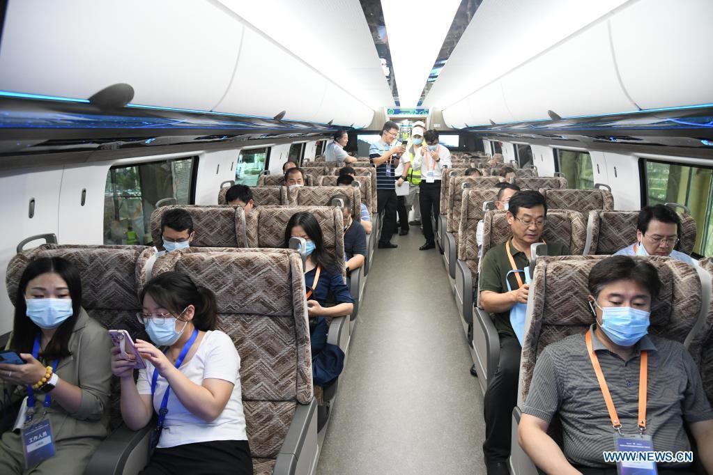 Tren maglev Xinhua 4